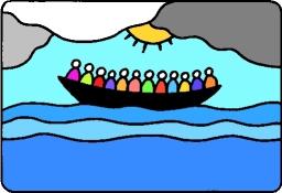 logo foi et lumiere le bateau