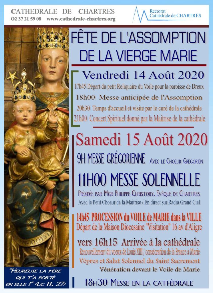 2020 15 aout chartres affiches