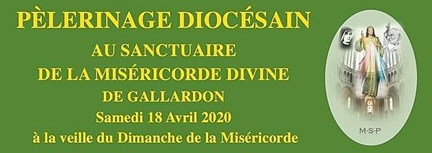 2020 pelerinage diocesain gallardon avril vignette