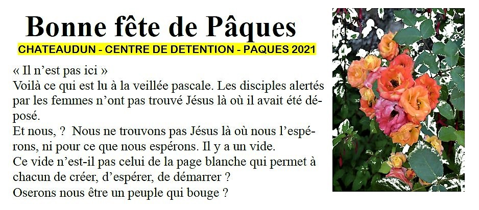 2021 CENTRE DE DETENTION VIGNETTE TITRE