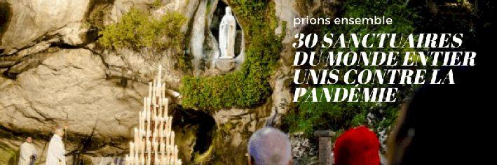 2021 MAI prions ensemble 30 sanctuairesdu monde entier